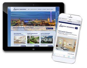 responsive Immobilienkomponente